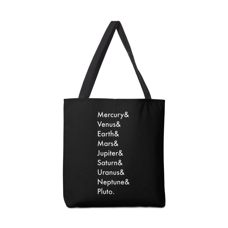 Planets Accessories Tote Bag Bag by Unprovable