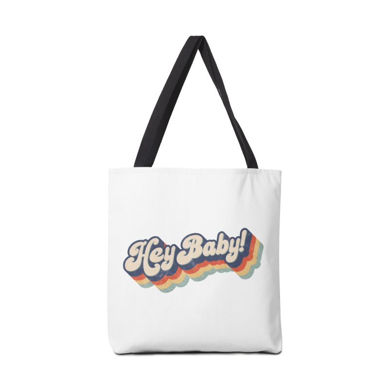 Hey Baby! Accessories Tote Bag Bag by Bloody Murder's Artist Shop