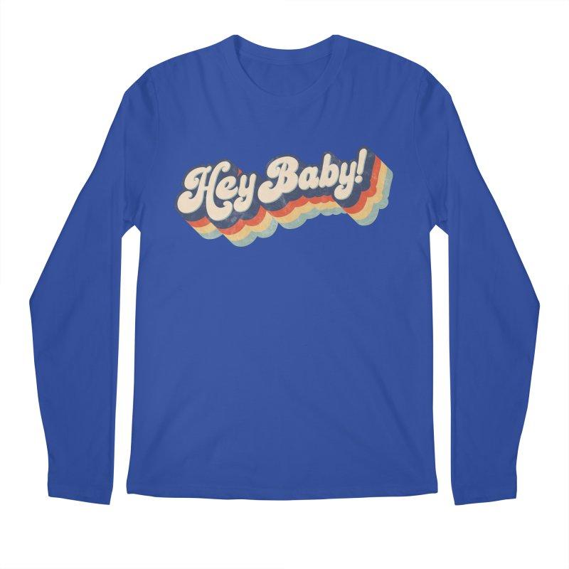 Hey Baby! Men's Regular Longsleeve T-Shirt by Bloody Murder's Artist Shop