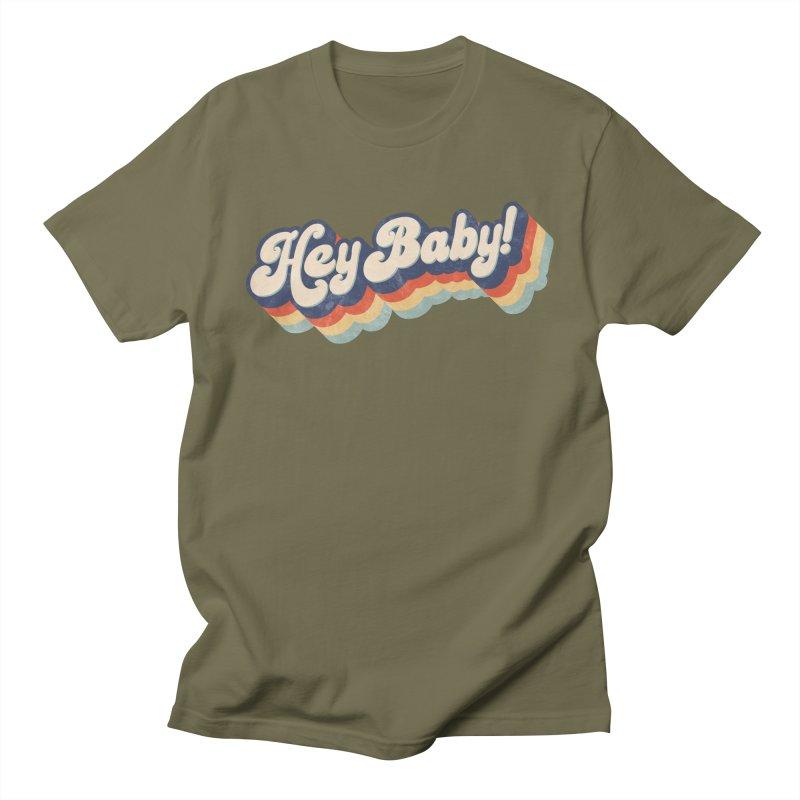 Hey Baby! Men's Regular T-Shirt by Bloody Murder's Artist Shop