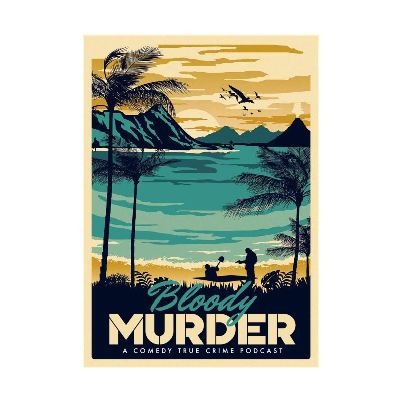 Tropical Travel Accessories Notebook by Bloody Murder's Artist Shop