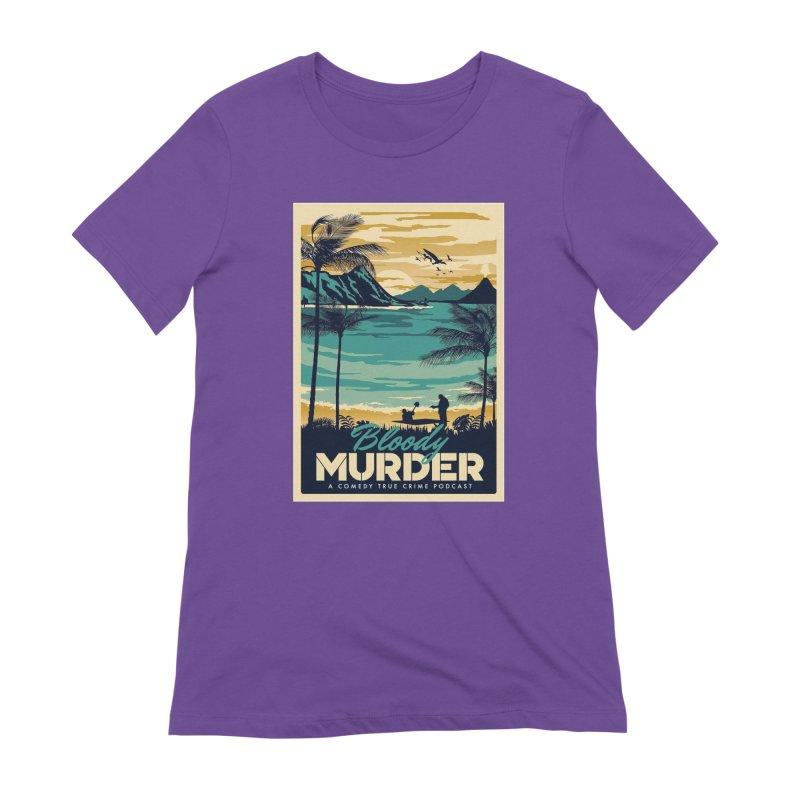 Tropical Travel Women's Extra Soft T-Shirt by Bloody Murder's Artist Shop
