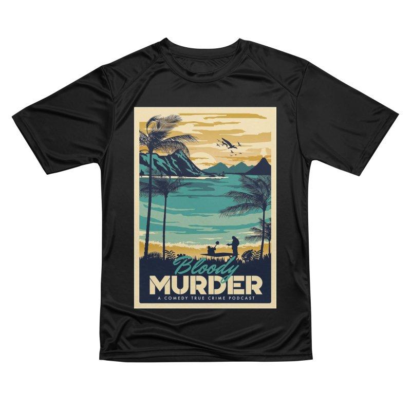 Tropical Travel Men's Performance T-Shirt by Bloody Murder's Artist Shop