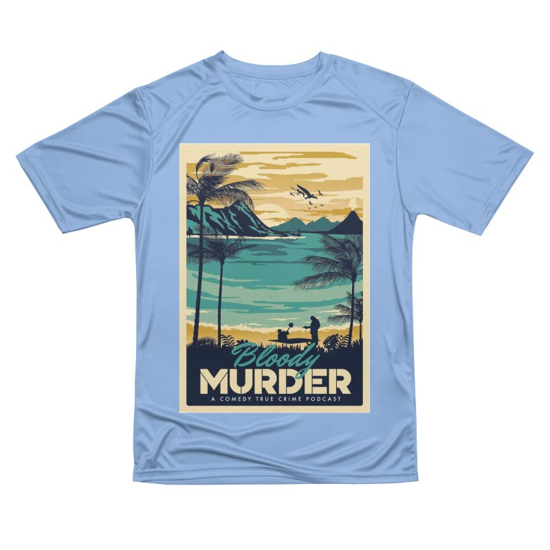 Tropical Travel Men's T-Shirt by Bloody Murder's Artist Shop