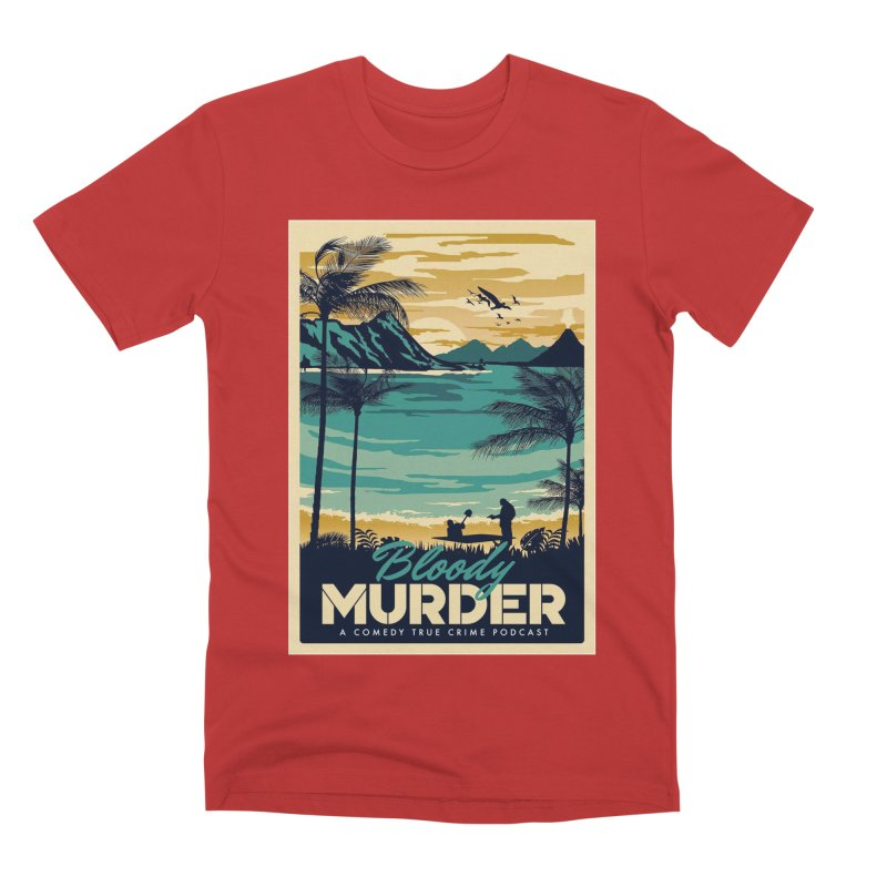 Tropical Travel Men's Premium T-Shirt by Bloody Murder's Artist Shop