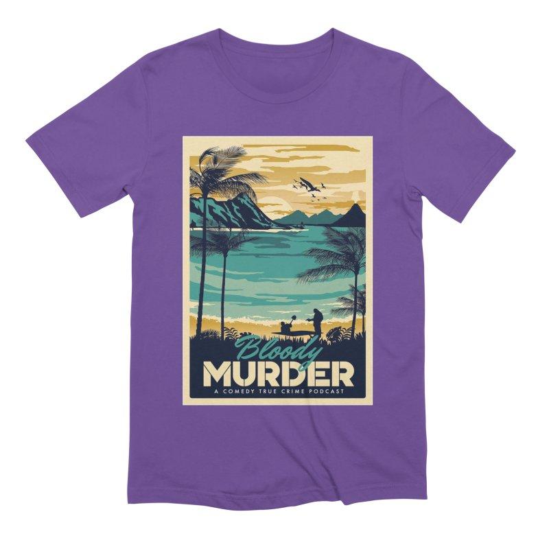 Tropical Travel Men's Extra Soft T-Shirt by Bloody Murder's Artist Shop