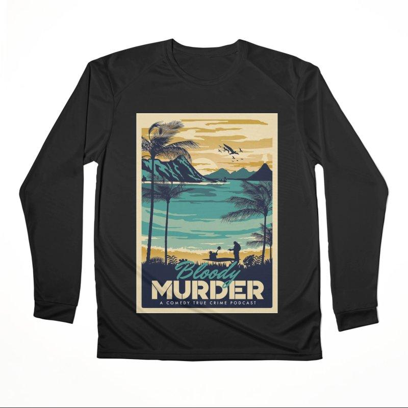 Tropical Travel Men's Performance Longsleeve T-Shirt by Bloody Murder's Artist Shop