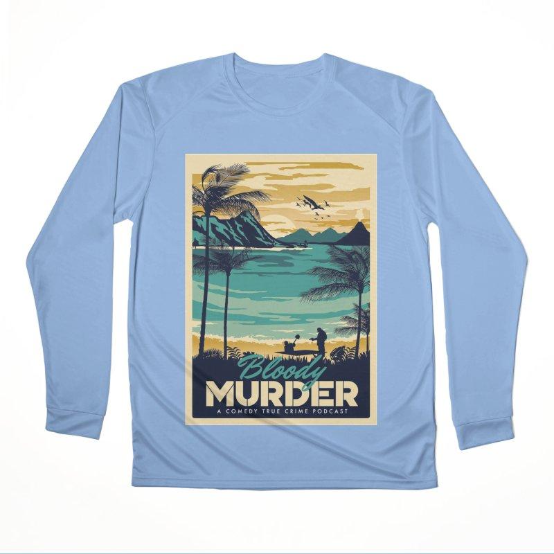 Tropical Travel Women's Longsleeve T-Shirt by Bloody Murder's Artist Shop