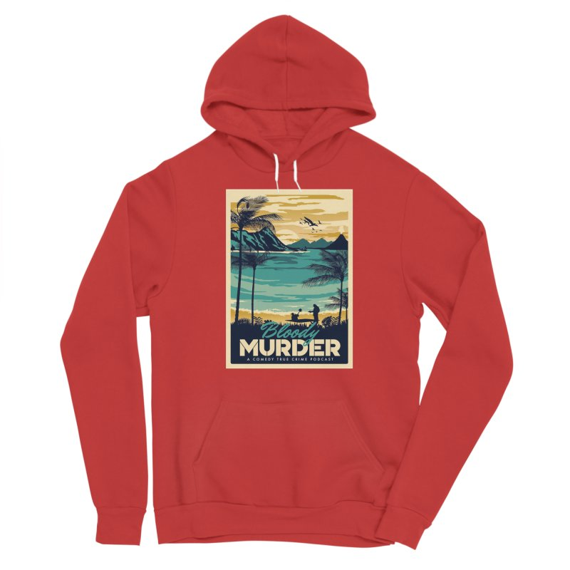 Tropical Travel Women's Pullover Hoody by Bloody Murder's Artist Shop