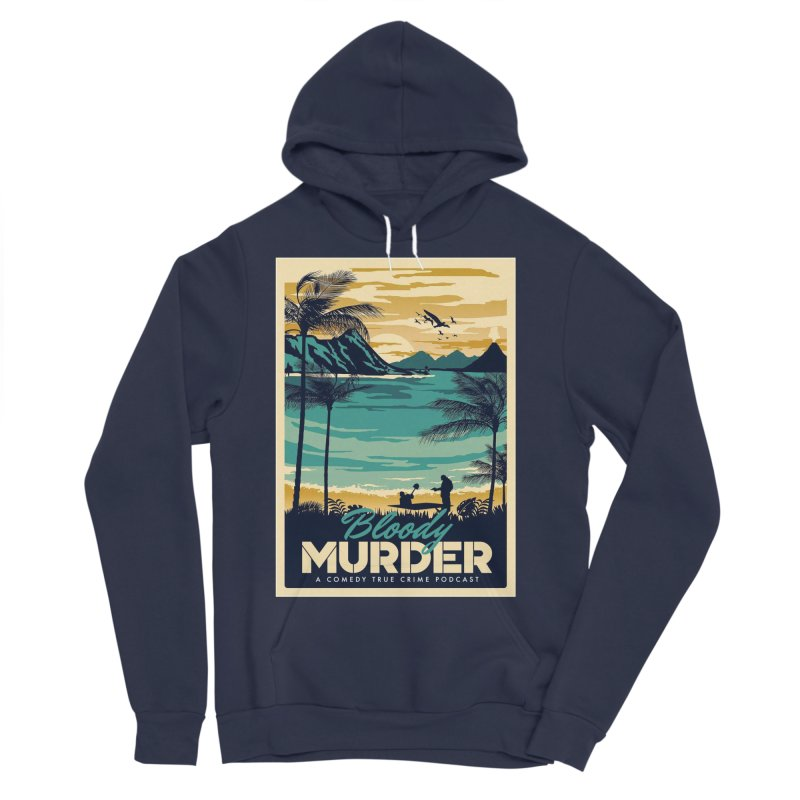Tropical Travel Men's Sponge Fleece Pullover Hoody by Bloody Murder's Artist Shop