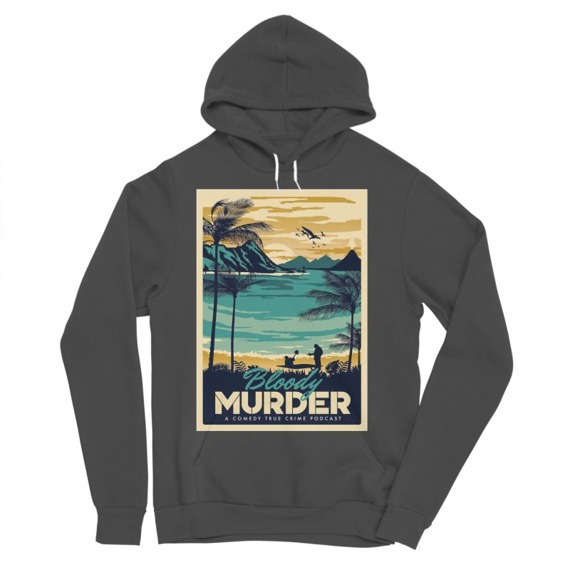 Tropical Travel Women's Sponge Fleece Pullover Hoody by Bloody Murder's Artist Shop
