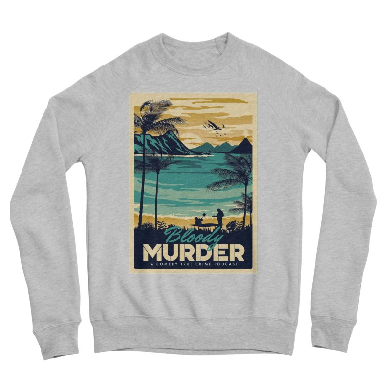 Tropical Travel Women's Sponge Fleece Sweatshirt by Bloody Murder's Artist Shop