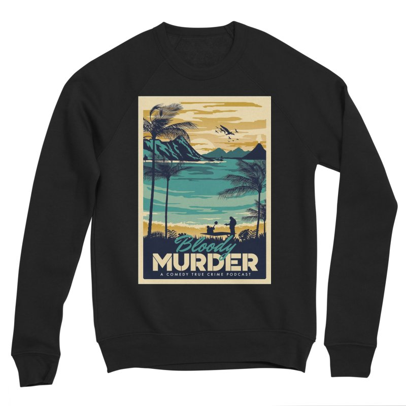 Tropical Travel Men's Sponge Fleece Sweatshirt by Bloody Murder's Artist Shop