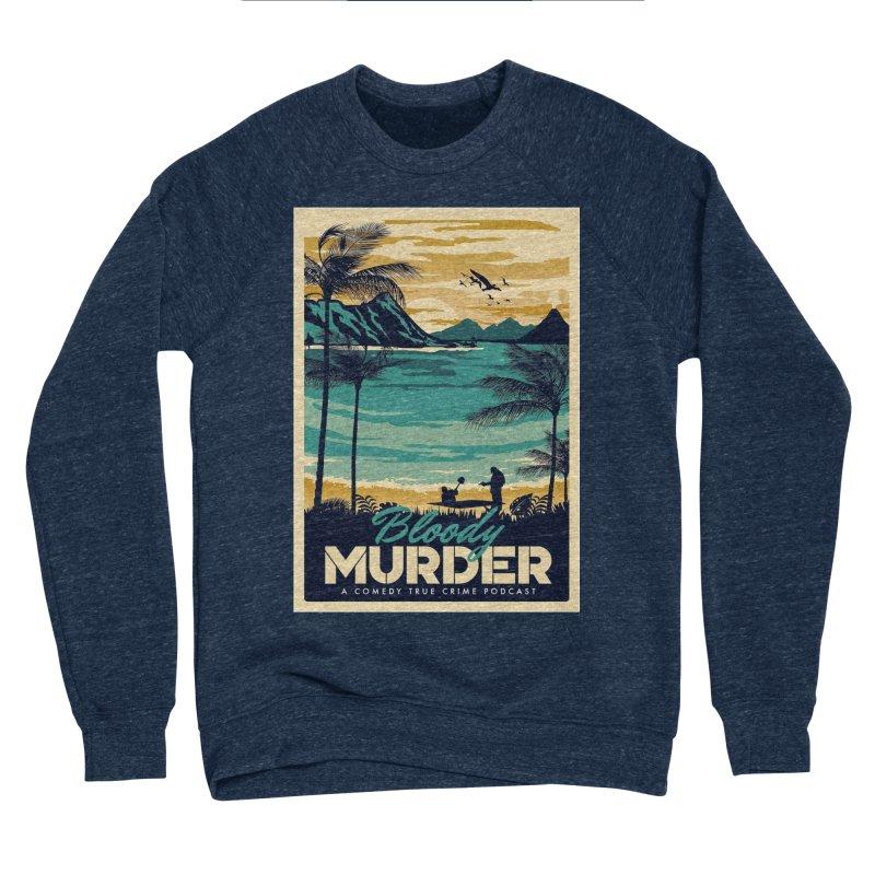 Tropical Travel Men's Sponge Fleece Sweatshirt by Bloody Murder's Artist Shop