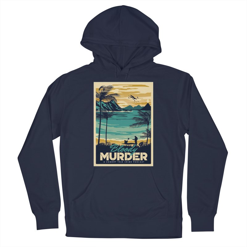 Tropical Travel Men's Pullover Hoody by Bloody Murder's Artist Shop