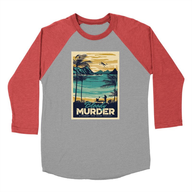 Tropical Travel Men's Longsleeve T-Shirt by Bloody Murder's Artist Shop