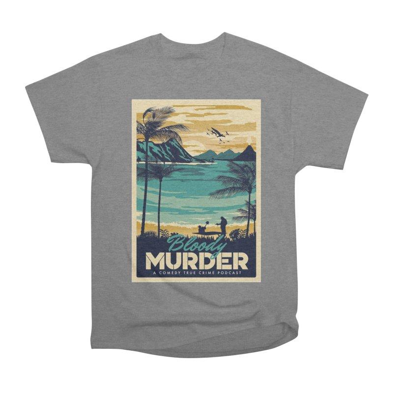 Tropical Travel Women's Heavyweight Unisex T-Shirt by Bloody Murder's Artist Shop
