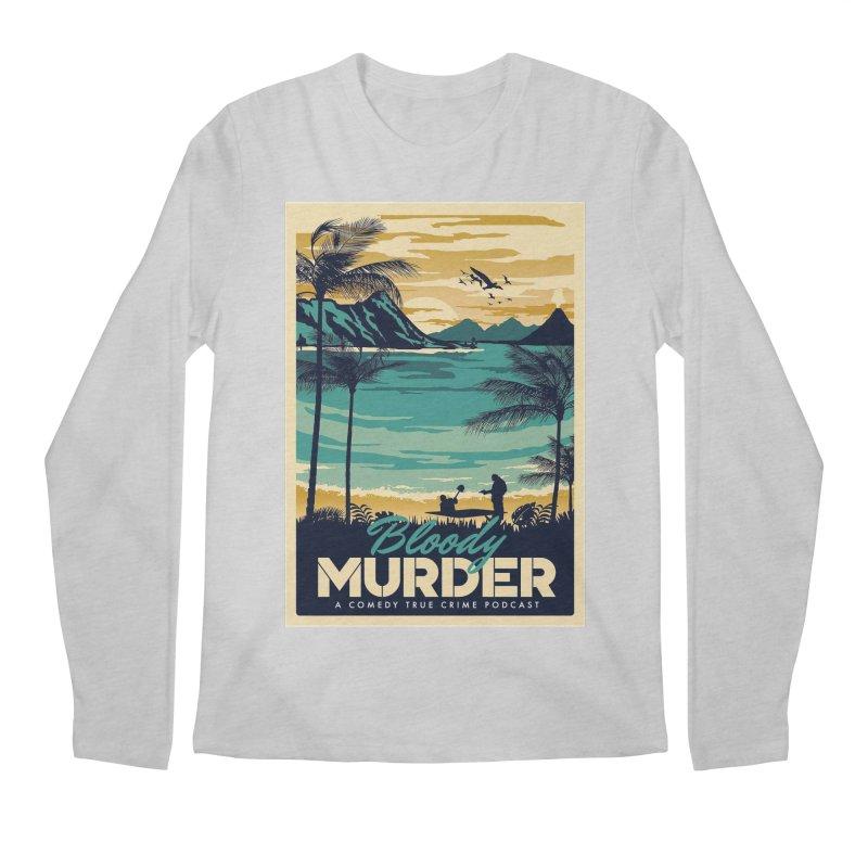 Tropical Travel Men's Regular Longsleeve T-Shirt by Bloody Murder's Artist Shop