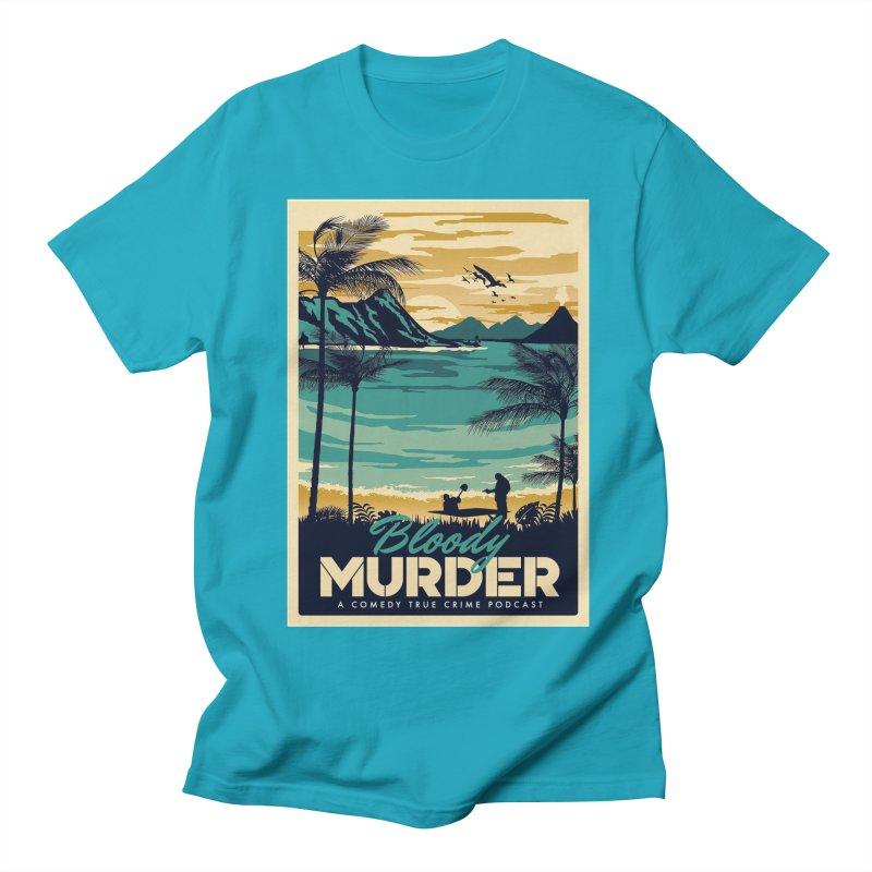 Tropical Travel Men's T-Shirt by Bloody Murder's Artist Shop