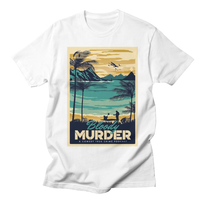 Tropical Travel Men's Regular T-Shirt by Bloody Murder's Artist Shop