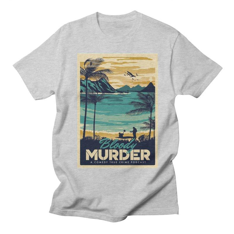 Tropical Travel Men's Regular T-Shirt by Bloody Murder's Artist Shop