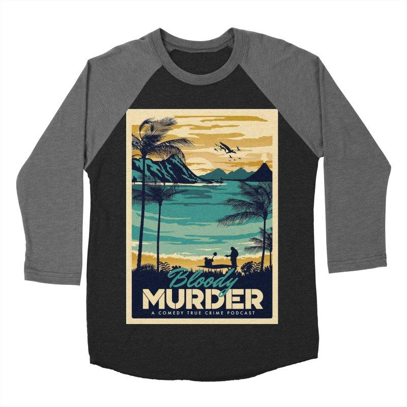 Tropical Travel Women's Baseball Triblend Longsleeve T-Shirt by Bloody Murder's Artist Shop