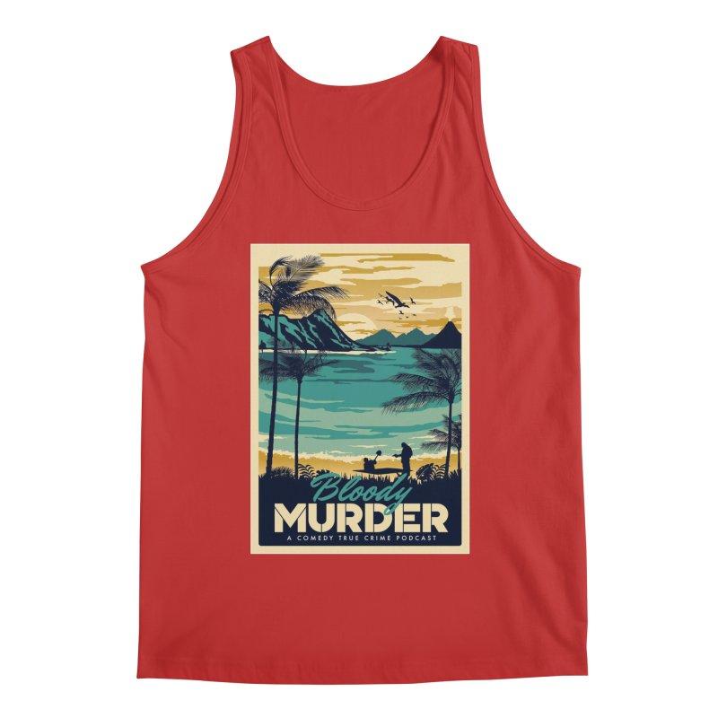 Tropical Travel Men's Regular Tank by Bloody Murder's Artist Shop
