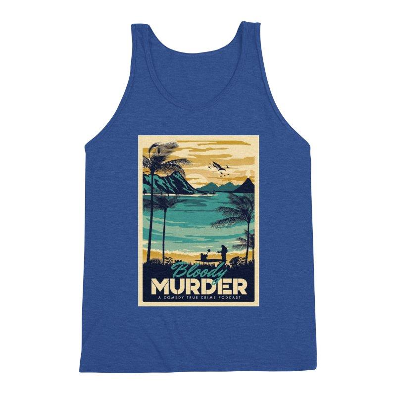 Tropical Travel Men's Tank by Bloody Murder's Artist Shop