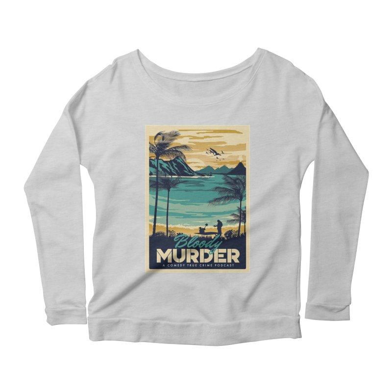 Tropical Travel Women's Scoop Neck Longsleeve T-Shirt by Bloody Murder's Artist Shop
