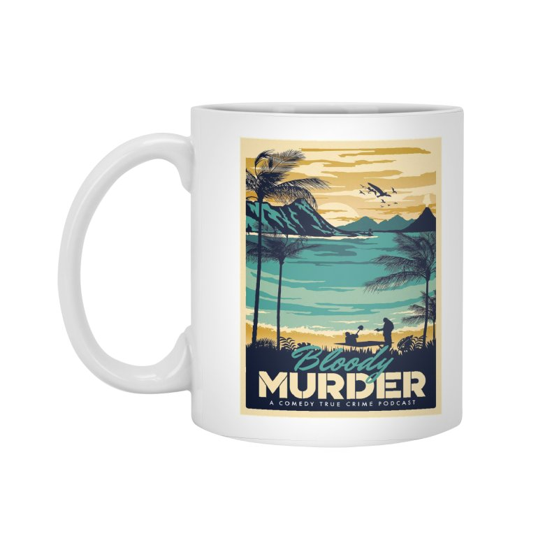 Tropical Travel Accessories Standard Mug by Bloody Murder's Artist Shop