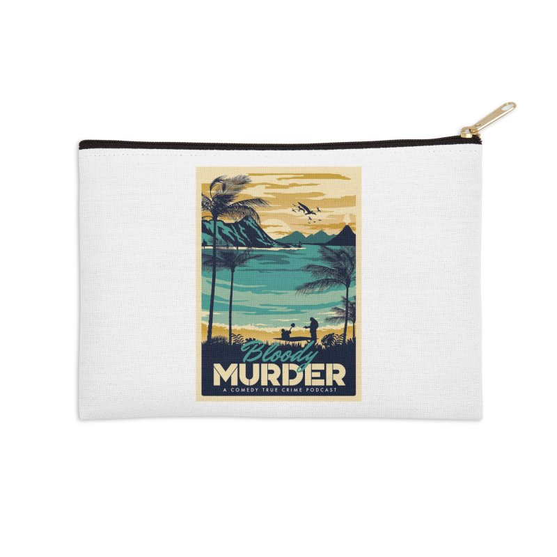 Tropical Travel Accessories Zip Pouch by Bloody Murder's Artist Shop