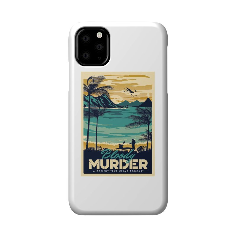 Tropical Travel Accessories Phone Case by Bloody Murder's Artist Shop