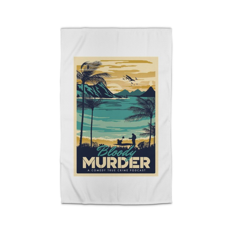 Tropical Travel Home Rug by Bloody Murder's Artist Shop