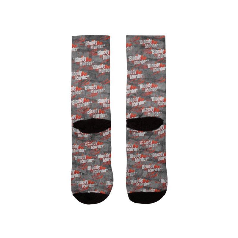 Bloody Murder Socks Men's Socks by Bloody Murder's Artist Shop