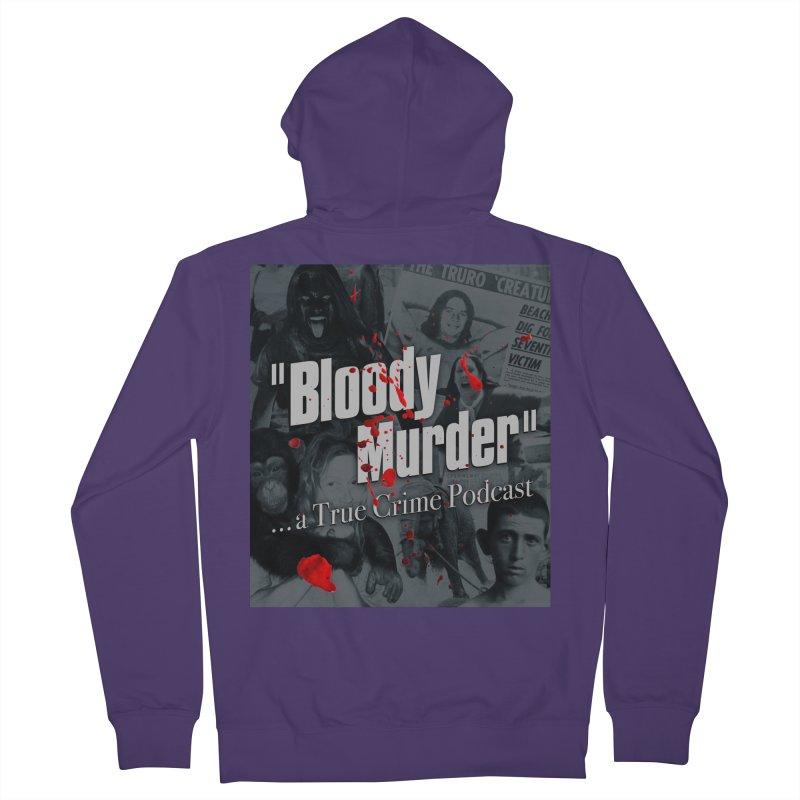 Bloody Murder Faces Women's Zip-Up Hoody by bloodymurder's Artist Shop