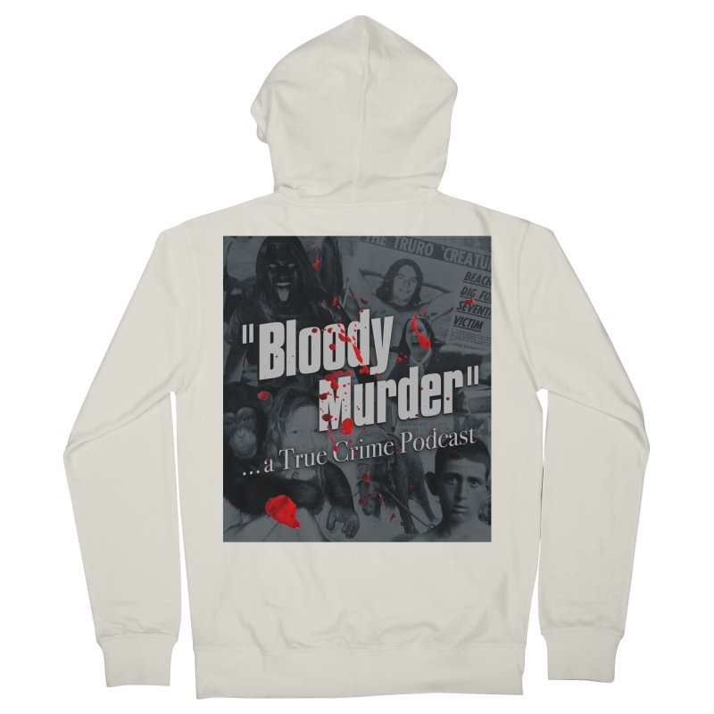 Bloody Murder Faces Men's Zip-Up Hoody by bloodymurder's Artist Shop