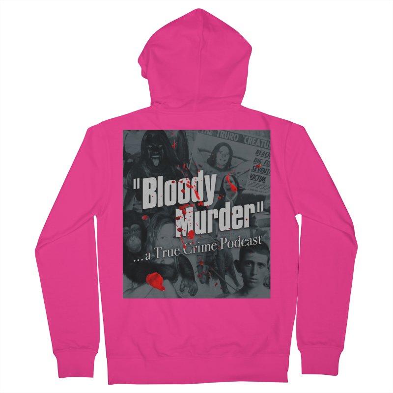 Bloody Murder Faces Men's Zip-Up Hoody by bloodymurder's Artist Shop