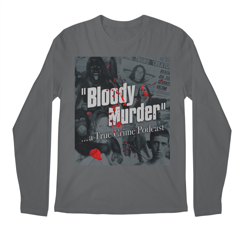 Bloody Murder Faces Men's Longsleeve T-Shirt by bloodymurder's Artist Shop