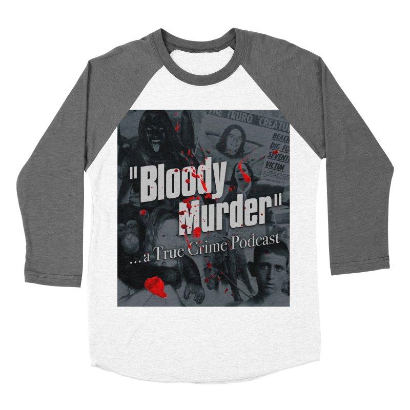 Bloody Murder Faces Men's Baseball Triblend T-Shirt by bloodymurder's Artist Shop