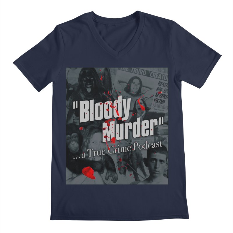 Bloody Murder Faces Men's V-Neck by bloodymurder's Artist Shop