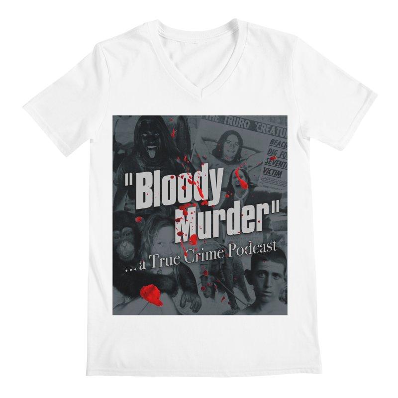 Bloody Murder Faces Men's V-Neck by bloodymurder's Artist Shop