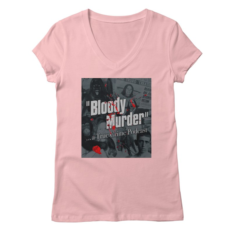 Bloody Murder Faces Women's V-Neck by bloodymurder's Artist Shop