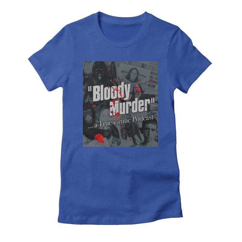 Bloody Murder Faces Women's Fitted T-Shirt by bloodymurder's Artist Shop