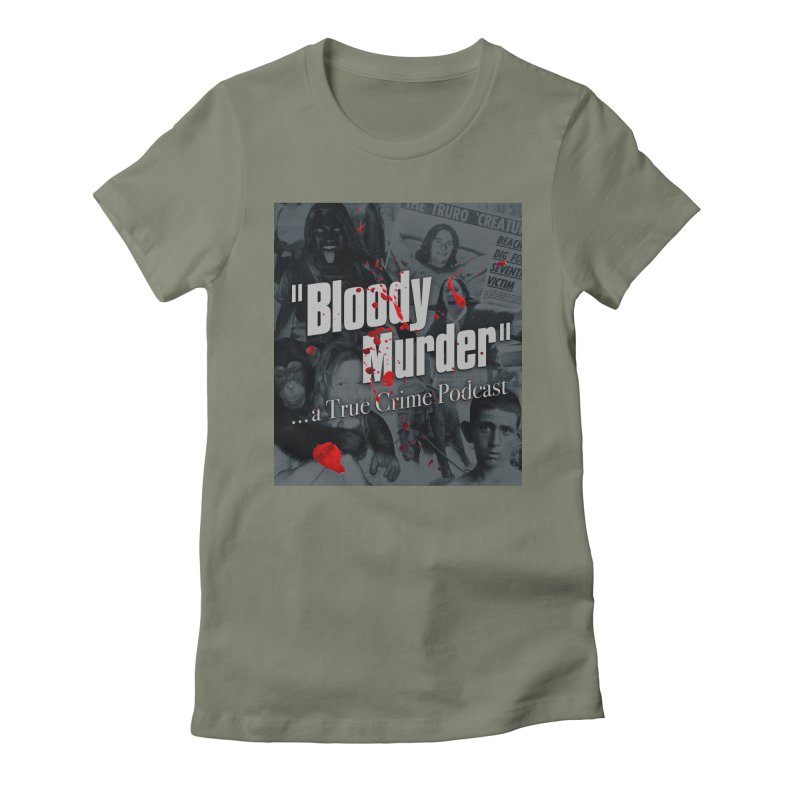 Bloody Murder Faces Women's Fitted T-Shirt by bloodymurder's Artist Shop