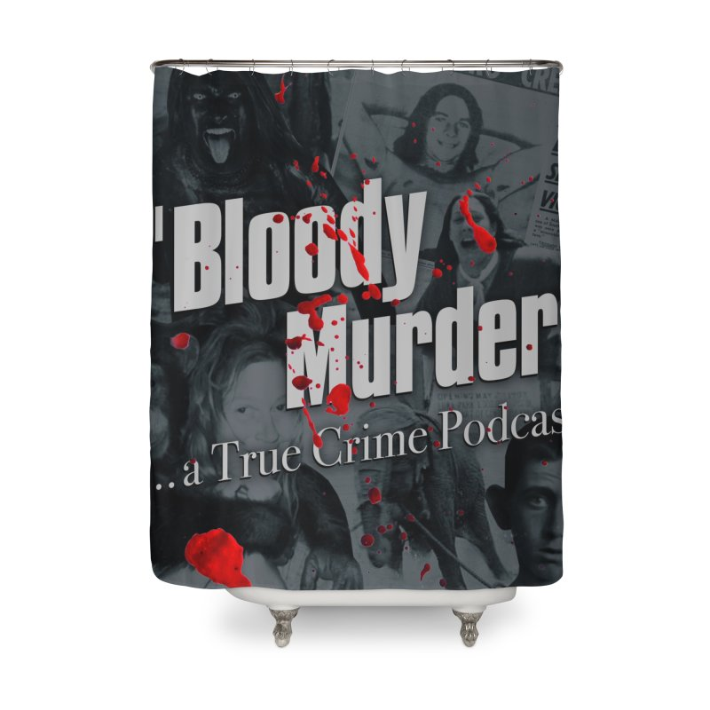 Bloody Murder Faces Home Shower Curtain by bloodymurder's Artist Shop