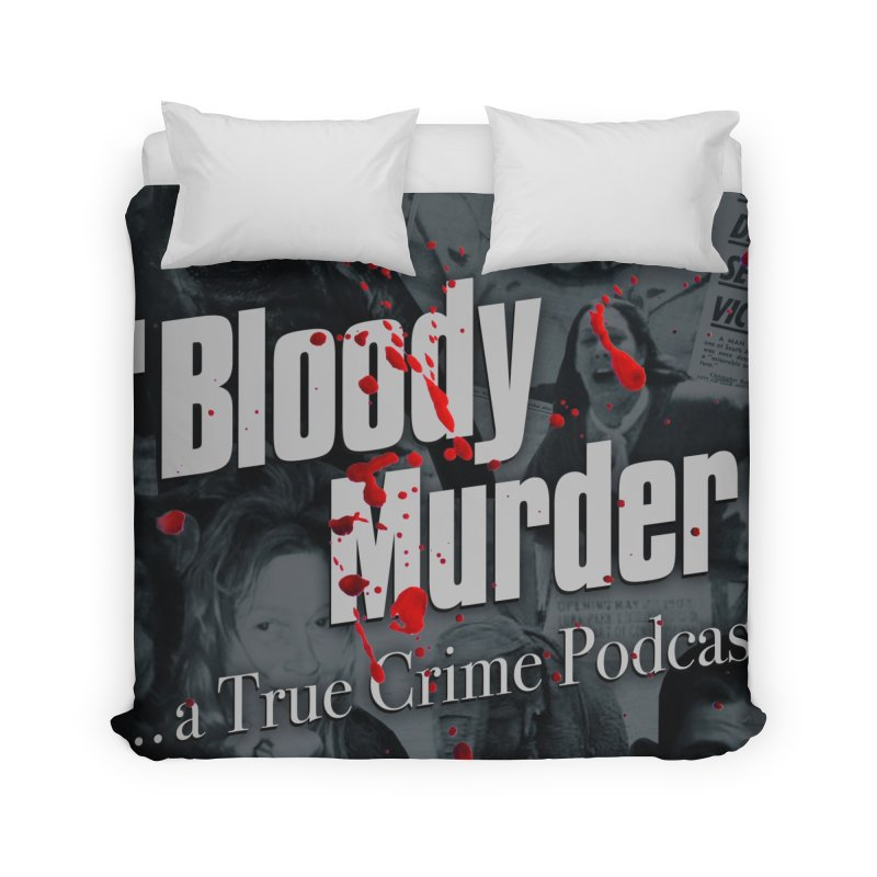 Bloody Murder Faces Home Duvet by bloodymurder's Artist Shop