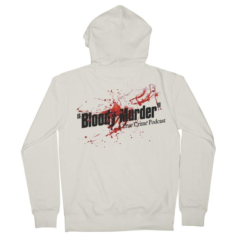 Bloody Murder Bleeding Logo Men's Zip-Up Hoody by bloodymurder's Artist Shop