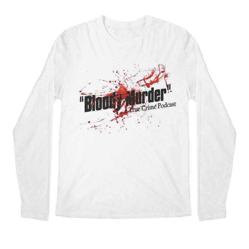 Bloody Murder Bleeding Logo Men's Longsleeve T-Shirt by bloodymurder's Artist Shop