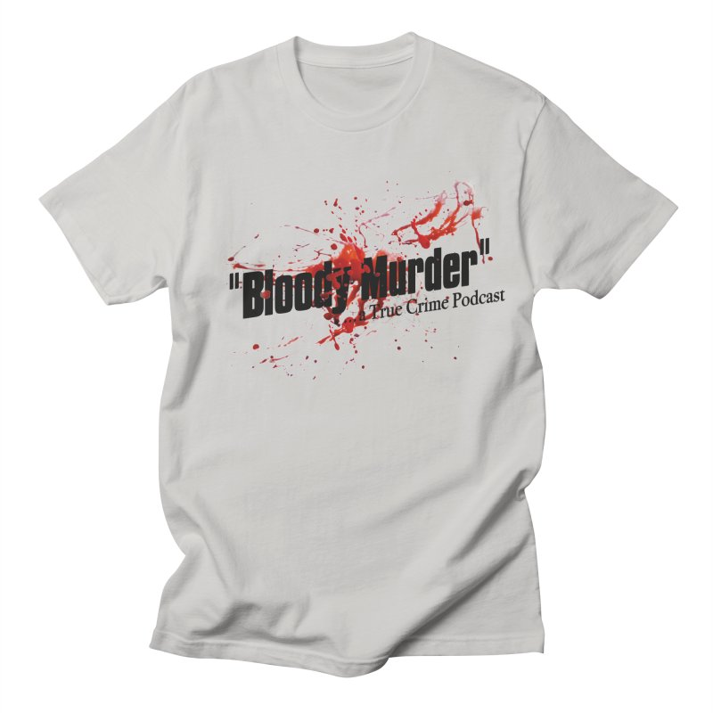 Bloody Murder Bleeding Logo Men's T-shirt by bloodymurder's Artist Shop