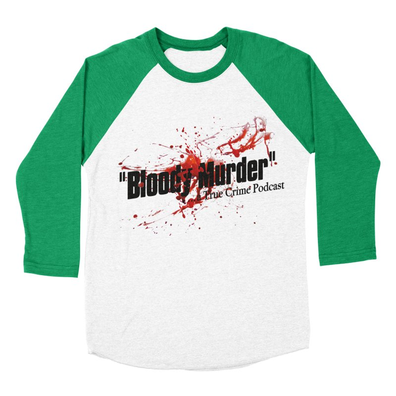 Bloody Murder Bleeding Logo Women's Baseball Triblend T-Shirt by bloodymurder's Artist Shop